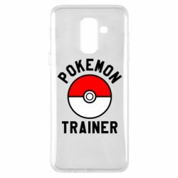 Чехол для Samsung A6+ 2018 Pokemon Trainer - FatLine