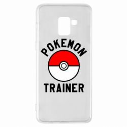Чехол для Samsung A8+ 2018 Pokemon Trainer - FatLine