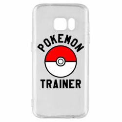 Чехол для Samsung S7 Pokemon Trainer - FatLine