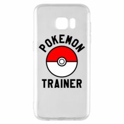 Чехол для Samsung S7 EDGE Pokemon Trainer - FatLine