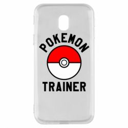 Чехол для Samsung J3 2017 Pokemon Trainer - FatLine
