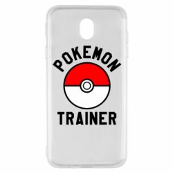 Чехол для Samsung J7 2017 Pokemon Trainer - FatLine
