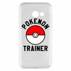 Чехол для Samsung A3 2017 Pokemon Trainer - FatLine
