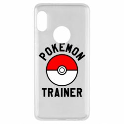Чехол для Xiaomi Redmi Note 5 Pokemon Trainer - FatLine
