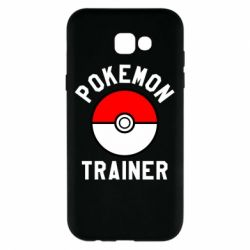 Чехол для Samsung A7 2017 Pokemon Trainer - FatLine