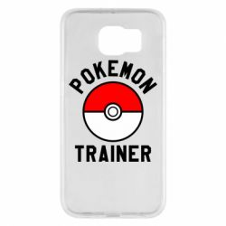 Чехол для Samsung S6 Pokemon Trainer - FatLine