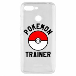 Чехол для Xiaomi Redmi 6 Pokemon Trainer - FatLine