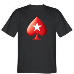 Мужская футболка Poker Stars 3D Logo - FatLine