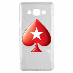 Чохол для Samsung A5 2015 Poker Stars 3D Logo