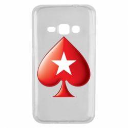 Чохол для Samsung J1 2016 Poker Stars 3D Logo