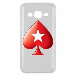 Чохол для Samsung J2 2015 Poker Stars 3D Logo