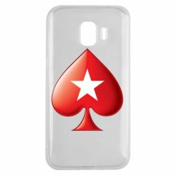 Чохол для Samsung J2 2018 Poker Stars 3D Logo