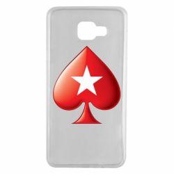 Чохол для Samsung A7 2016 Poker Stars 3D Logo