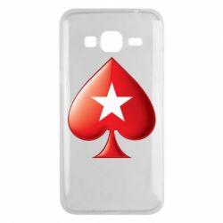 Чохол для Samsung J3 2016 Poker Stars 3D Logo