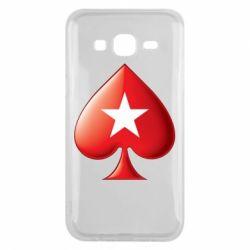 Чохол для Samsung J5 2015 Poker Stars 3D Logo