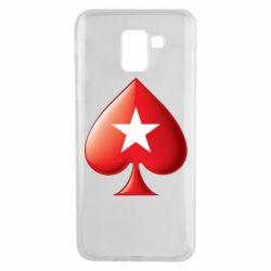 Чохол для Samsung J6 Poker Stars 3D Logo