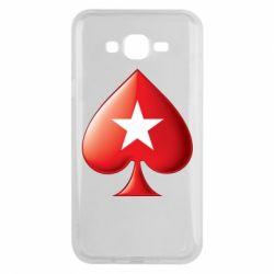 Чохол для Samsung J7 2015 Poker Stars 3D Logo