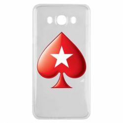 Чохол для Samsung J7 2016 Poker Stars 3D Logo