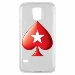 Чохол для Samsung S5 Poker Stars 3D Logo