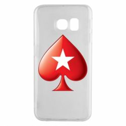 Чохол для Samsung S6 EDGE Poker Stars 3D Logo
