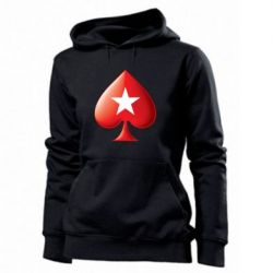 Женская толстовка Poker Stars 3D Logo - FatLine