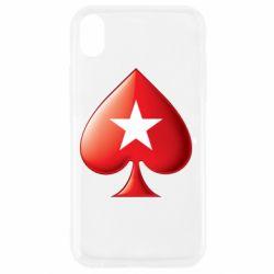 Чохол для iPhone XR Poker Stars 3D Logo
