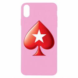 Чохол для iPhone Xs Max Poker Stars 3D Logo