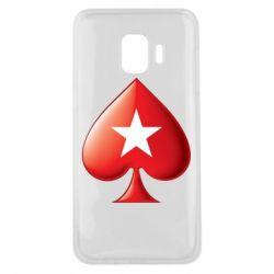 Чохол для Samsung J2 Core Poker Stars 3D Logo
