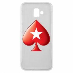Чохол для Samsung J6 Plus 2018 Poker Stars 3D Logo
