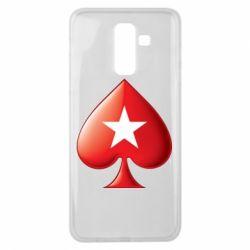 Чохол для Samsung J8 2018 Poker Stars 3D Logo