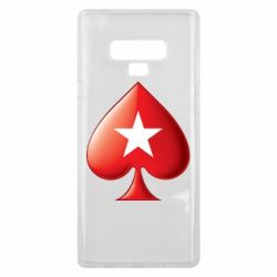 Чохол для Samsung Note 9 Poker Stars 3D Logo