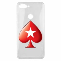 Чохол для Xiaomi Mi8 Lite Poker Stars 3D Logo