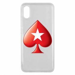Чохол для Xiaomi Mi8 Pro Poker Stars 3D Logo