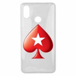 Чохол для Xiaomi Mi Max 3 Poker Stars 3D Logo