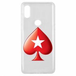 Чохол для Xiaomi Mi Mix 3 Poker Stars 3D Logo