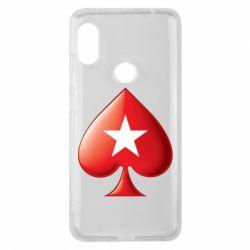 Чохол для Xiaomi Redmi Note Pro 6 Poker Stars 3D Logo