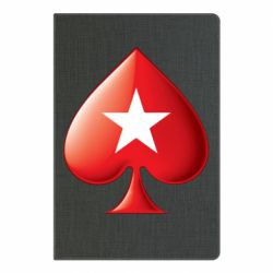 Блокнот А5 Poker Stars 3D Logo