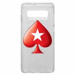Чохол для Samsung S10+ Poker Stars 3D Logo