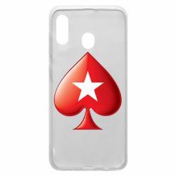 Чохол для Samsung A30 Poker Stars 3D Logo