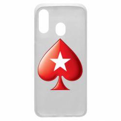 Чохол для Samsung A40 Poker Stars 3D Logo