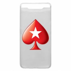Чохол для Samsung A80 Poker Stars 3D Logo