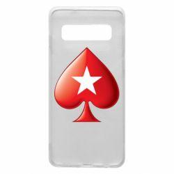Чохол для Samsung S10 Poker Stars 3D Logo