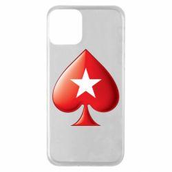 Чохол для iPhone 11 Poker Stars 3D Logo
