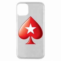 Чохол для iPhone 11 Pro Poker Stars 3D Logo