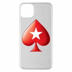 Чохол для iPhone 11 Pro Max Poker Stars 3D Logo