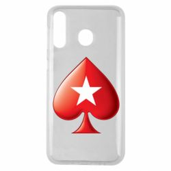 Чохол для Samsung M30 Poker Stars 3D Logo