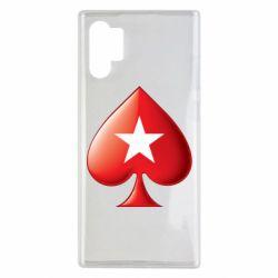 Чохол для Samsung Note 10 Plus Poker Stars 3D Logo