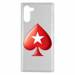 Чохол для Samsung Note 10 Poker Stars 3D Logo