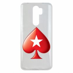 Чохол для Xiaomi Redmi Note 8 Pro Poker Stars 3D Logo