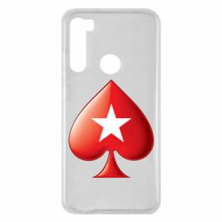 Чохол для Xiaomi Redmi Note 8 Poker Stars 3D Logo